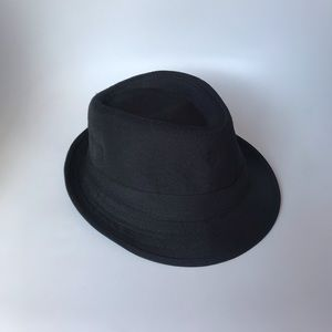 Boys Small Black Fedora - fits ages 2-4; worn once